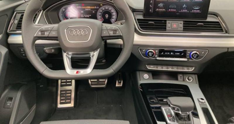 Audi Q5 40 TDI 204 S tronic 7 Quattro S line Blanc occasion à Chenove - photo n°6