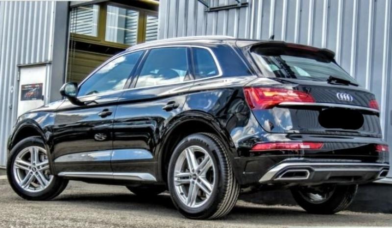 Audi Q5 40 TDI 204CH S LINE QUATTRO S TRONIC 7 Noir occasion à Villenave-d'Ornon - photo n°2