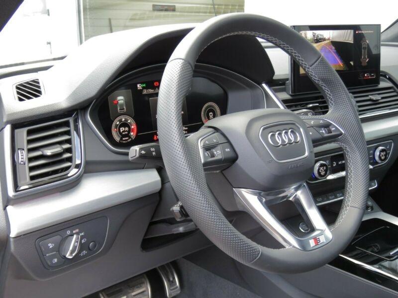 Audi Q5 40 TDI 204CH S LINE QUATTRO S TRONIC 7 Noir occasion à Villenave-d'Ornon - photo n°5
