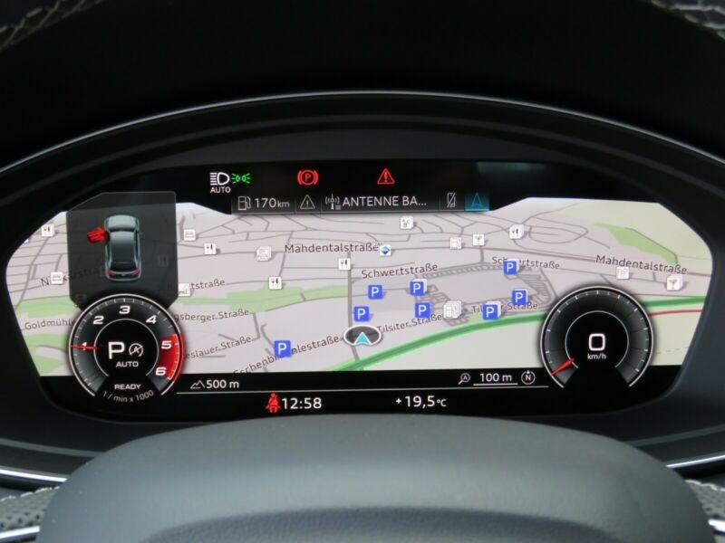 Audi Q5 40 TDI 204CH S LINE QUATTRO S TRONIC 7 Noir occasion à Villenave-d'Ornon - photo n°6