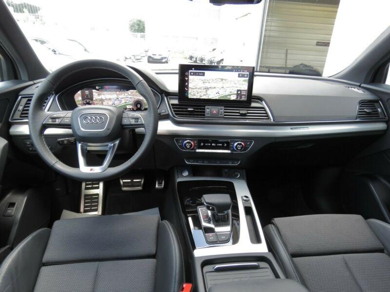 Audi Q5 40 TDI 204CH S LINE QUATTRO S TRONIC 7 Noir occasion à Villenave-d'Ornon - photo n°4