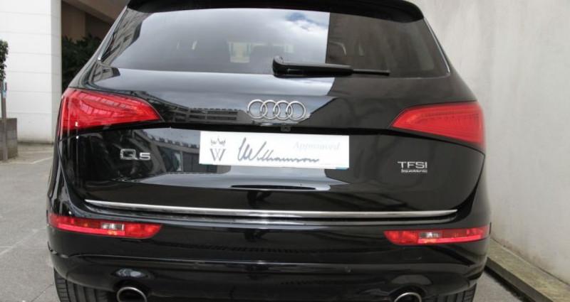Audi Q5 avus 2.0 tfsi 230cv ii Noir occasion à Neuilly Sur Seine - photo n°6