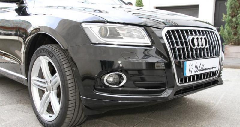 Audi Q5 avus 2.0 tfsi 230cv ii Noir occasion à Neuilly Sur Seine - photo n°3