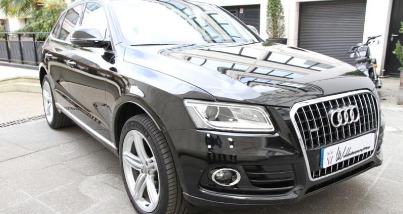 Audi Q5 avus 2.0 tfsi 230cv ii Noir occasion à Neuilly Sur Seine