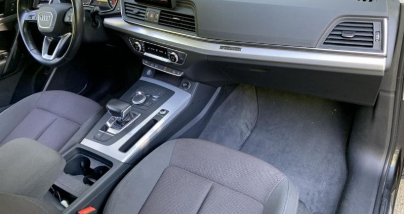 Audi Q5 Design Quattro 2.0 TDI 163 cv S-tronic 2ème Géneration Gris occasion à Meylan - photo n°4