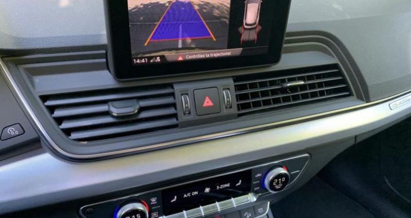 Audi Q5 Design Quattro 2.0 TDI 163 cv S-tronic 2ème Géneration Gris occasion à Meylan - photo n°3