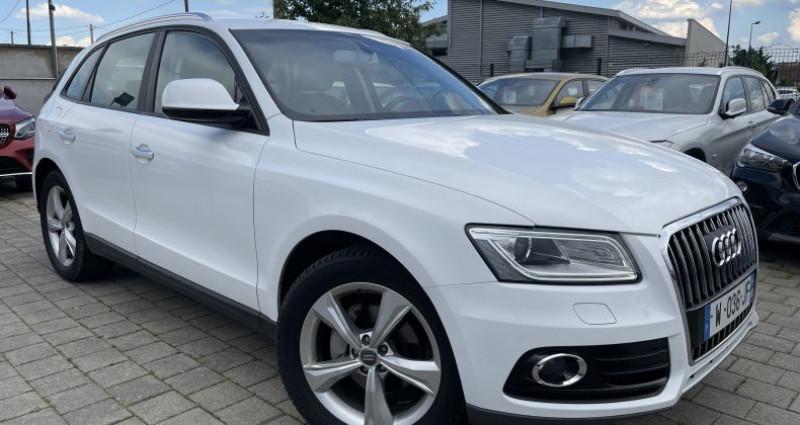 Audi Q5 II 2.0 TDI 150ch Business Executive Blanc occasion à SELESTAT