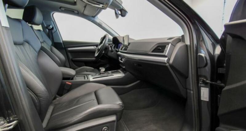 Audi Q5 II 2.0 TDI 190ch quattro S tronic 7 Gris occasion à Boulogne-Billancourt - photo n°3