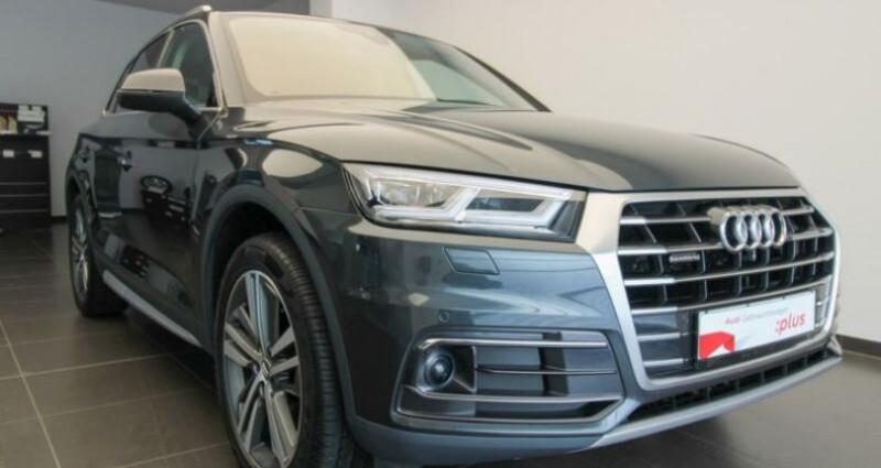 Audi Q5 II 2.0 TDI 190ch quattro S tronic 7 Gris occasion à Boulogne-Billancourt