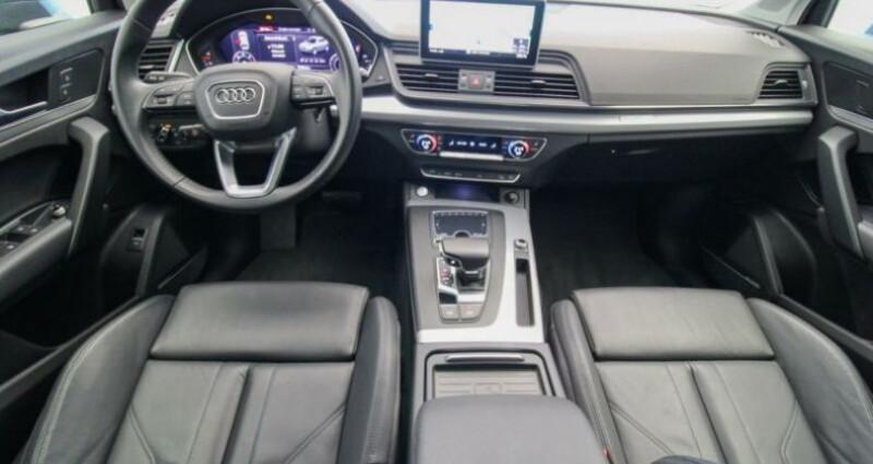 Audi Q5 II 2.0 TDI 190ch quattro S tronic 7 Gris occasion à Boulogne-Billancourt - photo n°4