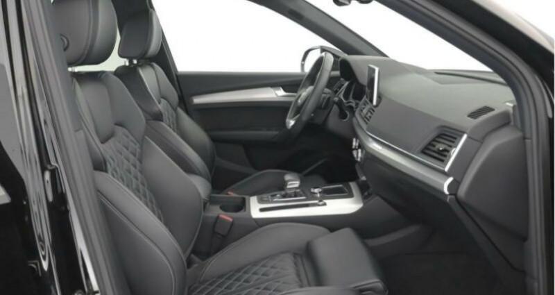 Audi Q5 II 2.0 TFSI 252ch S line quattro Noir occasion à Boulogne-Billancourt - photo n°6