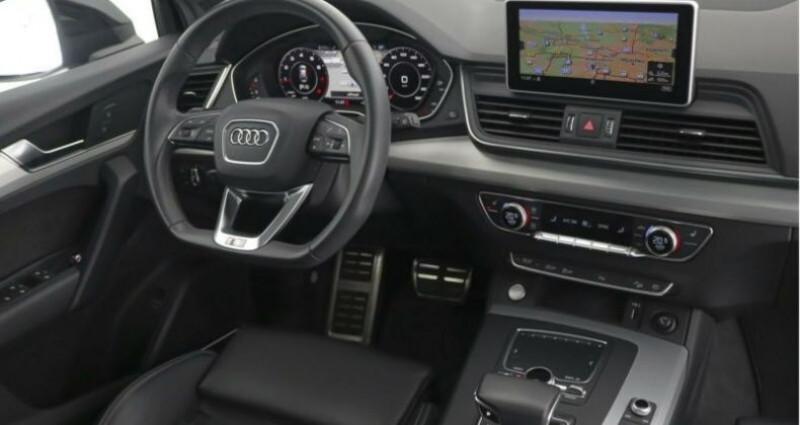 Audi Q5 II 2.0 TFSI 252ch S line quattro Noir occasion à Boulogne-Billancourt - photo n°5