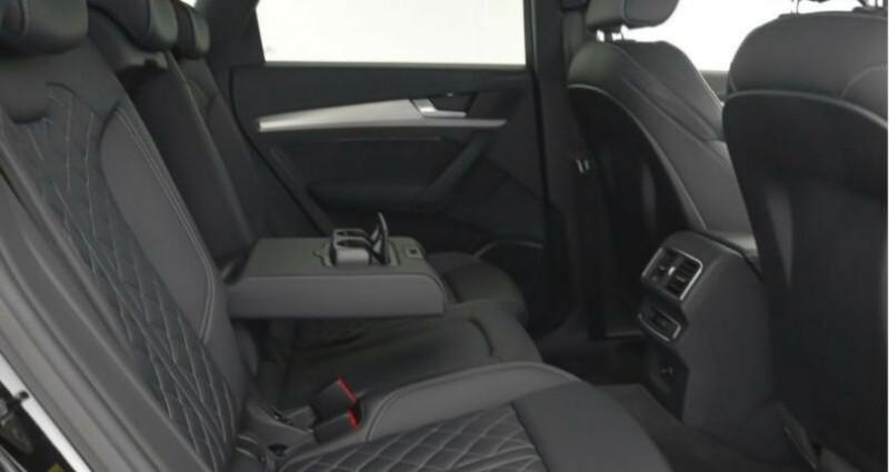 Audi Q5 II 2.0 TFSI 252ch S line quattro Noir occasion à Boulogne-Billancourt - photo n°7