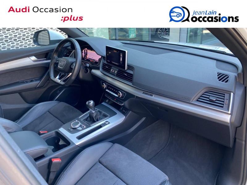 Audi Q5 Q5 2.0 TDI 190 Quattro S line 5p Blanc occasion à Échirolles - photo n°9