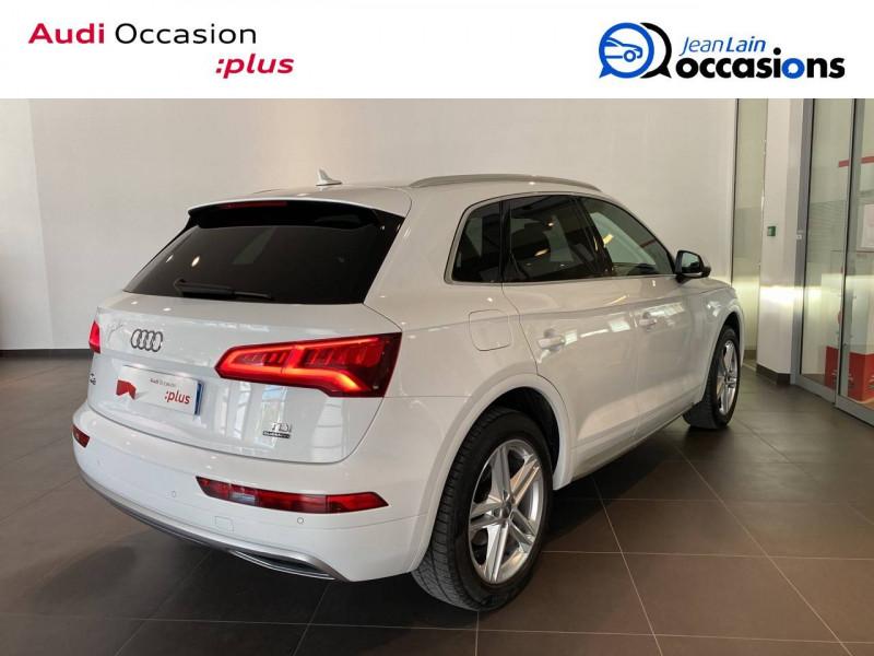 Audi Q5 Q5 2.0 TDI 190 Quattro S line 5p Blanc occasion à Échirolles - photo n°4