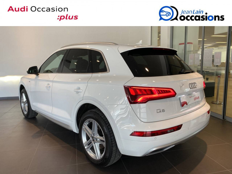 Audi Q5 Q5 2.0 TDI 190 Quattro S line 5p Blanc occasion à Échirolles - photo n°6