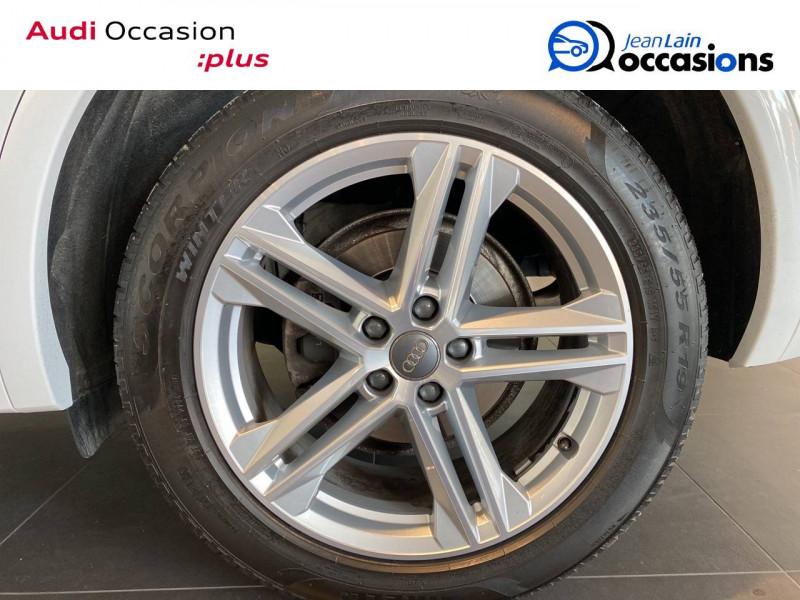 Audi Q5 Q5 2.0 TDI 190 Quattro S line 5p Blanc occasion à Échirolles - photo n°7