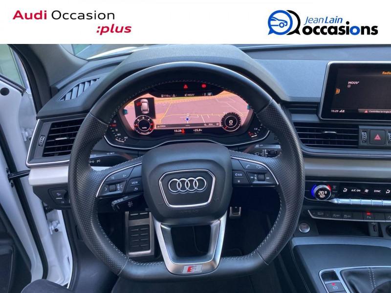 Audi Q5 Q5 2.0 TDI 190 Quattro S line 5p Blanc occasion à Échirolles - photo n°10