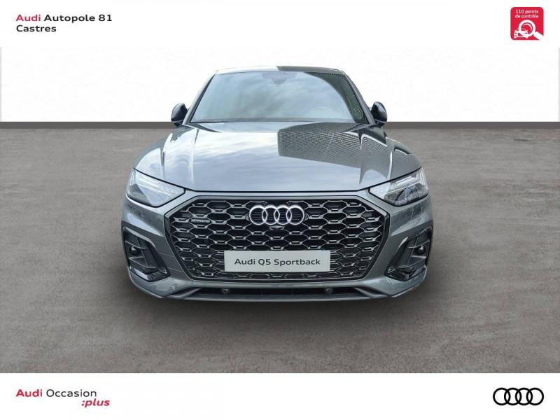 Audi Q5 Q5 Sportback 40 TDI 204 S tronic 7 Quattro S line 5p Gris occasion à Castres - photo n°2