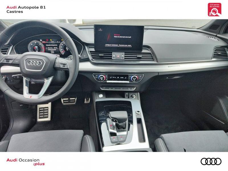 Audi Q5 Q5 Sportback 40 TDI 204 S tronic 7 Quattro S line 5p Gris occasion à Castres - photo n°5