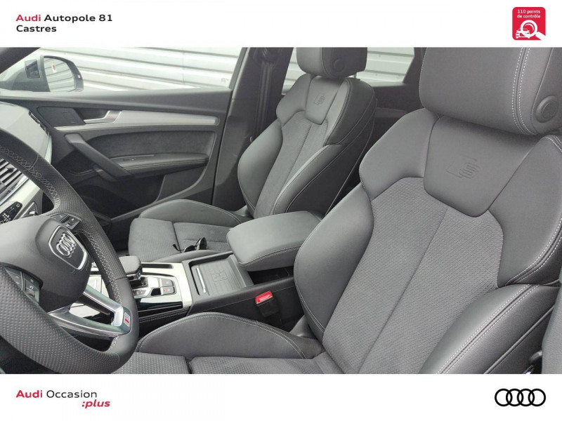 Audi Q5 Q5 Sportback 40 TDI 204 S tronic 7 Quattro S line 5p Gris occasion à Castres - photo n°6