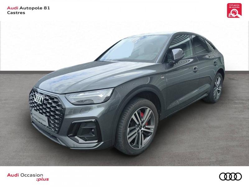 Audi Q5 Q5 Sportback 40 TDI 204 S tronic 7 Quattro S line 5p Gris occasion à Castres