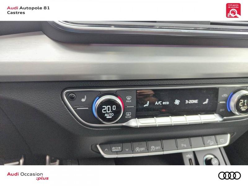Audi Q5 Q5 Sportback 40 TDI 204 S tronic 7 Quattro S line 5p Gris occasion à Castres - photo n°11