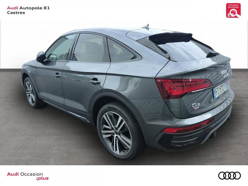 Audi Q5 Q5 Sportback 40 TDI 204 S tronic 7 Quattro S line 5p Gris occasion à Castres - photo n°4