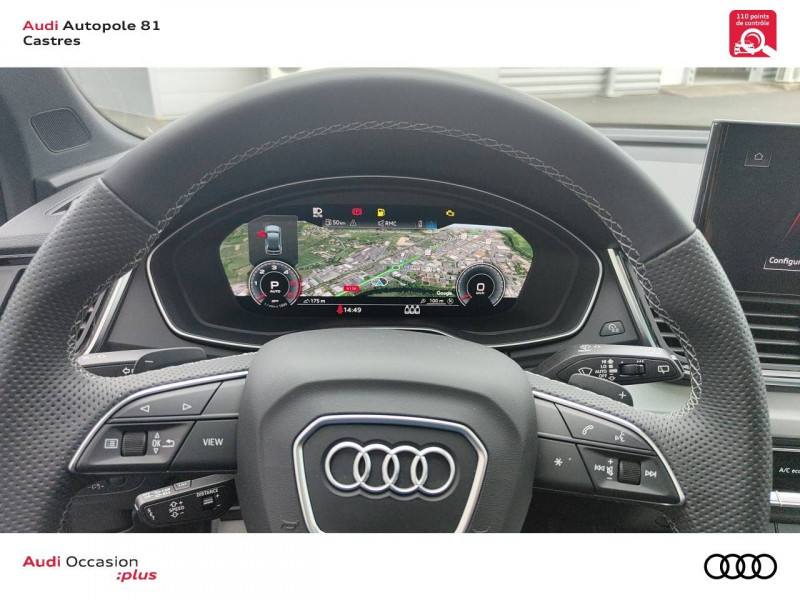 Audi Q5 Q5 Sportback 40 TDI 204 S tronic 7 Quattro S line 5p Gris occasion à Castres - photo n°10