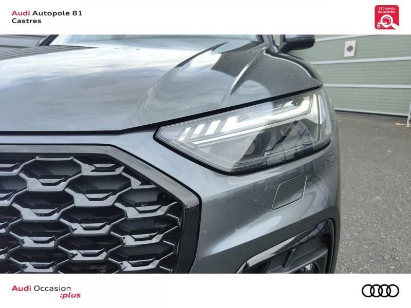 Audi Q5 Q5 Sportback 40 TDI 204 S tronic 7 Quattro S line 5p Gris occasion à Castres - photo n°8