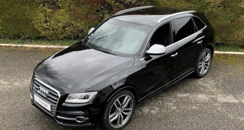 Audi Q5 S3.0 BiTurbo 313cv Tiptronic Noir occasion à Meylan - photo n°6