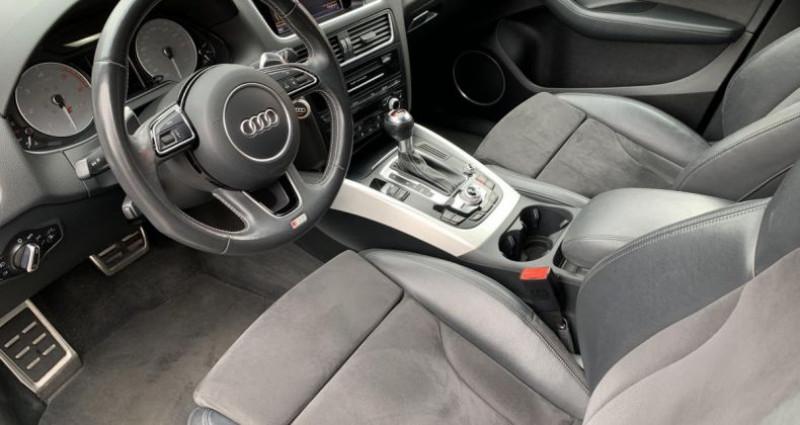 Audi Q5 S3.0 BiTurbo 313cv Tiptronic Noir occasion à Meylan - photo n°5