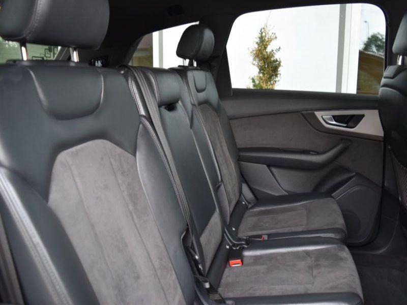 Audi Q7 3.0 TDI Quattro 272 7 places Gris occasion à Beaupuy - photo n°5