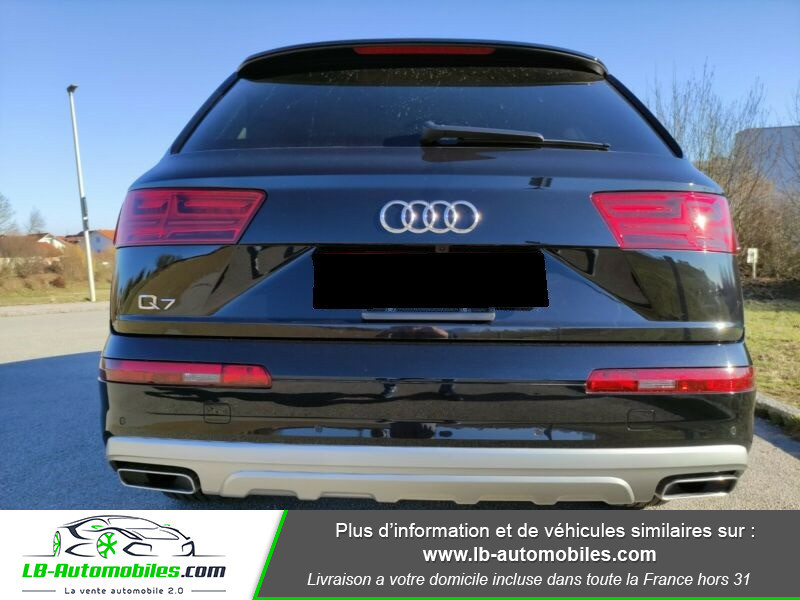 Audi Q7 3.0 TDI Noir occasion à Beaupuy - photo n°4