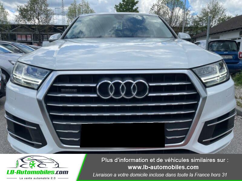 Audi Q7 3.0 TDI Blanc occasion à Beaupuy - photo n°4