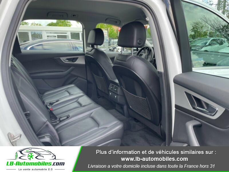 Audi Q7 3.0 TDI Blanc occasion à Beaupuy - photo n°9