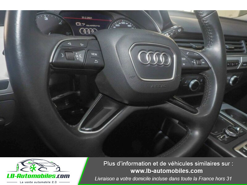 Audi Q7 3.0 TDI Bleu occasion à Beaupuy - photo n°8