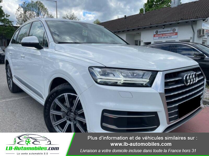 Audi Q7 3.0 TDI Blanc occasion à Beaupuy - photo n°5