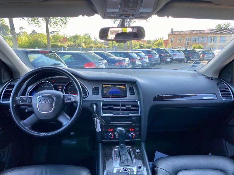 Audi Q7 3.0 V6 TDI 204ch FAP Ambition Luxe quattro Tiptronic 7 place Noir occasion à Castelmaurou - photo n°6