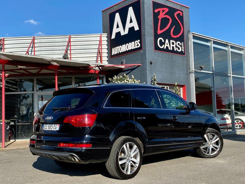Audi Q7 3.0 V6 TDI 204ch FAP Ambition Luxe quattro Tiptronic 7 place Noir occasion à Castelmaurou - photo n°2
