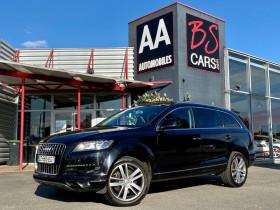 Audi Q7 3.0 V6 TDI 204ch FAP Ambition Luxe quattro Tiptronic 7 place Noir occasion à Castelmaurou - photo n°1