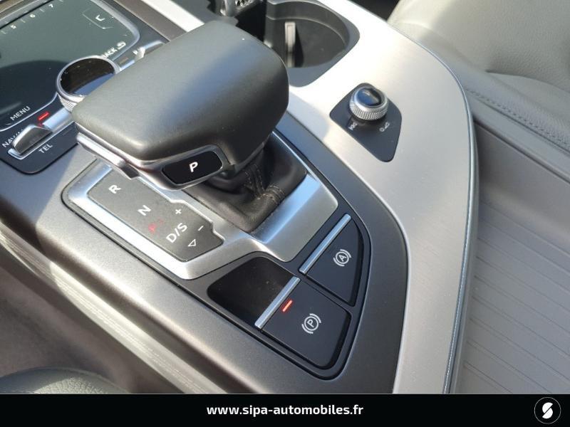 Audi Q7 3.0 V6 TDI 272ch clean diesel Avus Extended quattro Tiptroni Gris occasion à Lescar - photo n°15