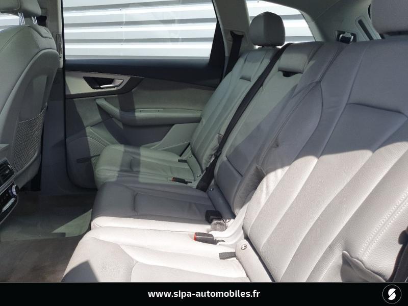 Audi Q7 3.0 V6 TDI 272ch clean diesel Avus Extended quattro Tiptroni Gris occasion à Lescar - photo n°11