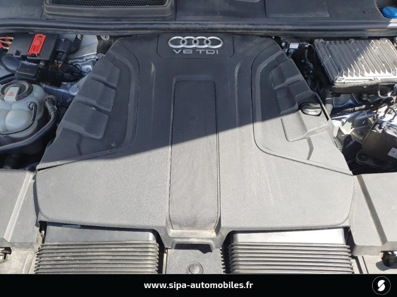 Audi Q7 3.0 V6 TDI 272ch clean diesel Avus Extended quattro Tiptroni Gris occasion à Lescar - photo n°12