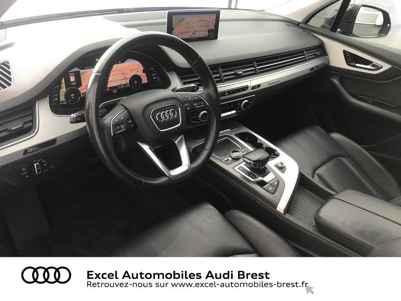 Audi Q7 3.0 V6 TDI 373ch e-tron Avus quattro Tiptronic Noir occasion à Brest - photo n°6