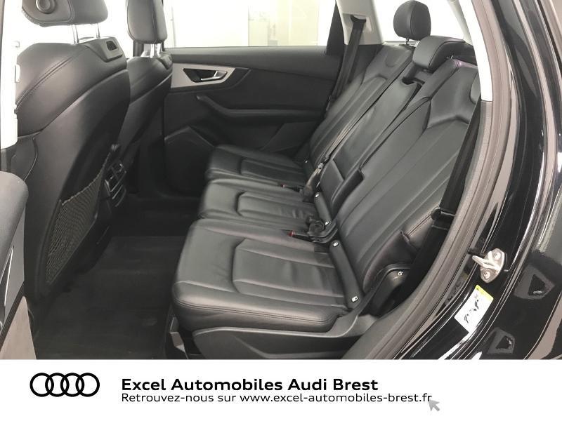Audi Q7 3.0 V6 TDI 373ch e-tron Avus quattro Tiptronic Noir occasion à Brest - photo n°8