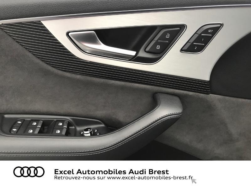 Audi Q7 3.0 V6 TDI 373ch e-tron Avus quattro Tiptronic Noir occasion à Brest - photo n°18