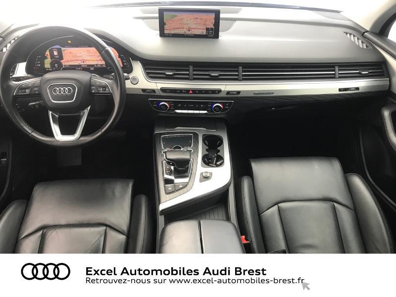 Audi Q7 3.0 V6 TDI 373ch e-tron Avus quattro Tiptronic Noir occasion à Brest - photo n°7