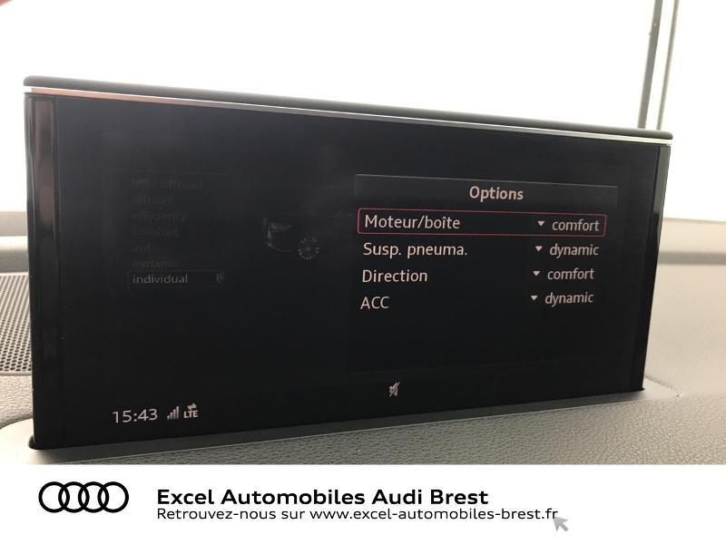 Audi Q7 3.0 V6 TDI 373ch e-tron Avus quattro Tiptronic Noir occasion à Brest - photo n°15
