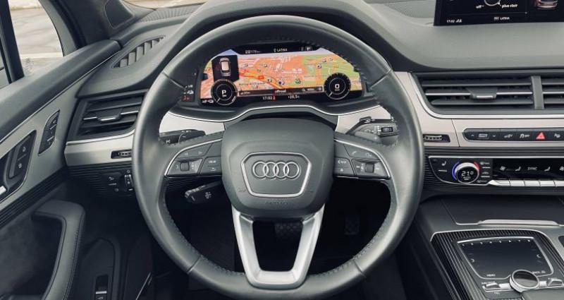 Audi Q7 3.0 V6 TDI e-tron 373 Tiptronic 8 Quattro 5pl Avus Extended Gris occasion à Saint-Ouen - photo n°7